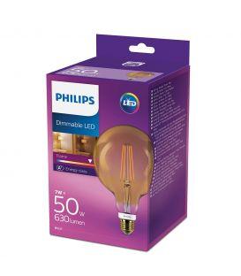 LED LAMPPU 7W E27 GLOBE DIM 871869657543