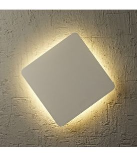 Seinävalaisin BORA BORA LED White 18x18 C0104