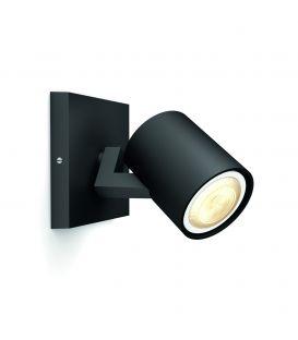 Seinävalaisin RUNNER HUE LED Black + Kytkin 871869615934