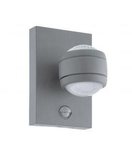 Seinävalaisin SESIMBA 1 LED Silver IP44 96019