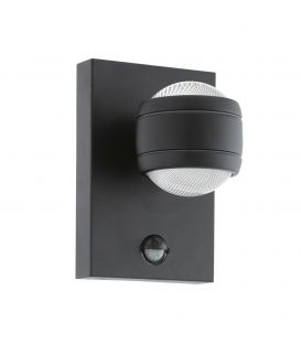 Seinävalaisin SESIMBA 1 LED Black IP44 96021