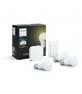 HUE LED STARTER KIT (Kosketuskytkin + 3 E27 lamput + kytkin) 871869672898