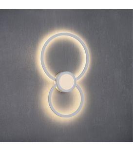 24W LED Seinävalaisin MURAL Round 6230