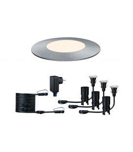 3 x 2.5 W LED setti PLUG & SHINE FLOOR MINI IP65 93697