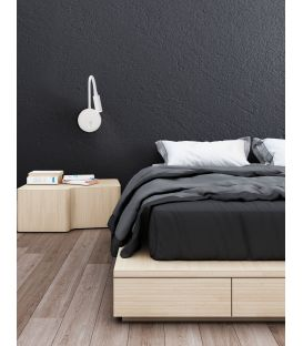 3W LED Sieninis šviestuvas GENEVA Black 8126582