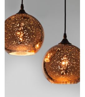 Pakabinamas šviestuvas BLAZE 3 Copper 8142681