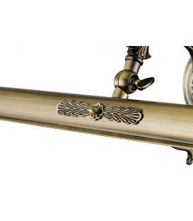 Sieninis šviestuvas RUBENS Bronze PIC117-01-R