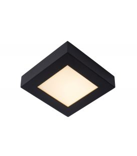 15W LED Kattovalaisin BRICE Black IP44 DIM 28117/17/30
