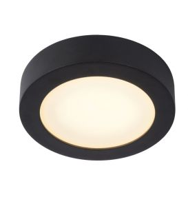 11W LED Kattovalaisin BRICE Black IP44 DIM 28116/18/30