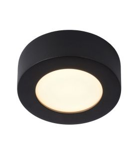 8W LED Kattovalaisin BRICE Black IP44 DIM 28116/11/30