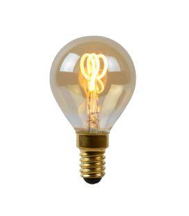 LED LAMPPU 3W E14 Dim Amber Ø4.5 49046/03/62