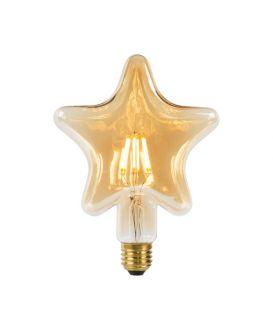 LED LAMPPU 6W E27 Amber 80102/06/62