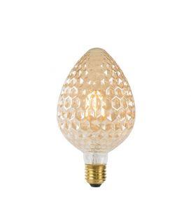 LED LAMPPU 6W E27 Amber Ø9.5 80105/06/62