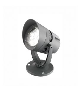 18W LED Lattiavalaisin NORTH Gray IP65 742071