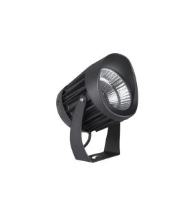 20W LED Lattiavalaisin NORTH Black Ø12 IP65 9240678