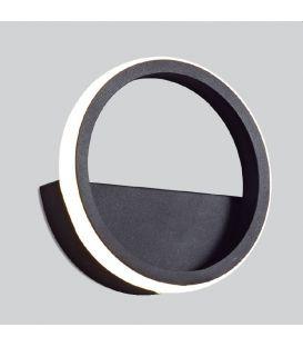 8W LED Seinävalaisin KITESURF Black 7144