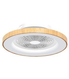 70W LED Tuuletinvalaisin TIBET Wood Dim 7126