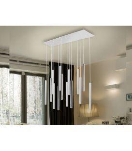 55W LED Riippuvalaisin VARAS White/Gold 373342