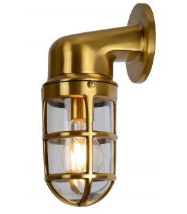 Seinävalaisin DUDLEY Brass IP44 11892/01/02