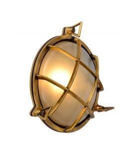 Seinävalaisin DUDLEY Brass IP44 11890/25/02