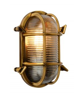 Seinävalaisin DUDLEY Brass IP44 11891/20/02