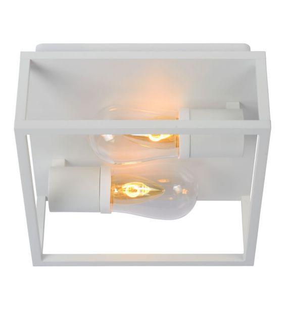 Sieninis šviestuvas CARLYN Black IP44 27200/01/30