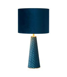 Pöytävalaisin EXTRAVAGANZA VELVET Turquoise 10501/81/37