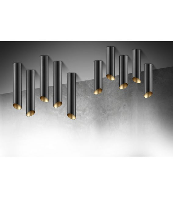 Lubinis šviestuvas 01140 Black/Gold 100-01140-17