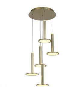 60W LED Riippuvalaisin OLIVER Dim MD17033012-5A GOLD