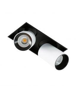 24W LED Alasvalo NOVUM TRIMLESS GL7119-2/12W 3000K WH+BL