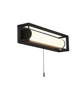6.5W LED Seinävalaisin CHAPLIN 74301-1BK