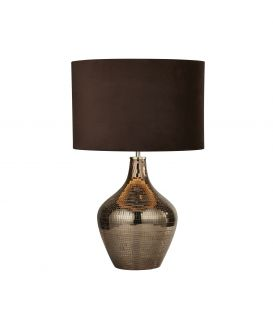 Pöytävalaisin TABLE LAMP Grey EU3847SM