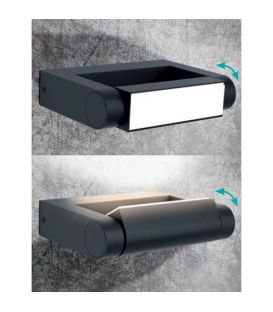 1W LED Lattiavalaisin DUSK IP44 17809/93/16