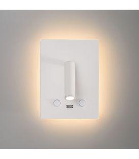 15W LED Seinävalaisin MANAT White A35680B