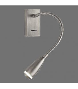 3W LED Seinävalaisin CLIK Nickel A373610NS