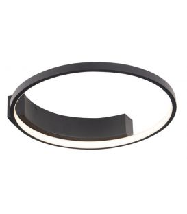 25W LED Kattovalaisin VELVET Black Ø40 C0199