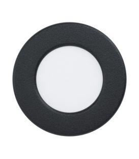 2.7W LED-paneeli FUEVA 5 Black Ø8.6 4000K 9915699156