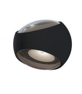 6W LED Seinävalaisin STREAM Black 2 IP54 O032WL-L6B3K
