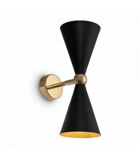 Seinävalaisin Vesper Black with Gold MOD108WL-02GB