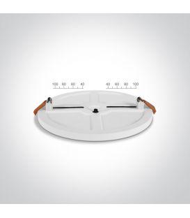 16W LED-paneeli White Round Ø14.5 IP44 3000K LPSR-16WW WQ