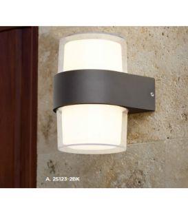 6W LED Sieninis šviestuvas OUTDOOR IP44 25123-2BK