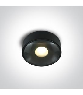 6W LED Kattovalaisin IP65 Black 67484/B/W