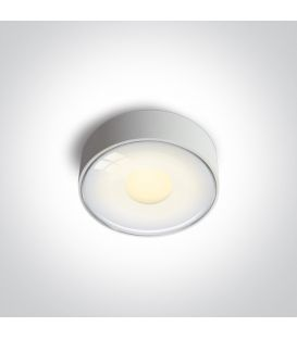 6W LED Kattovalaisin IP65 White 67484/W/W