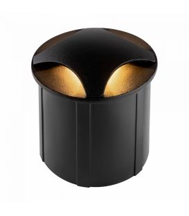 3W LED alasvalo BISCOTTI Black IP65 O036-L3B3K