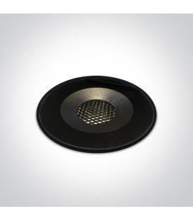 6W LED alasvalo Black IP65 69060/B/W