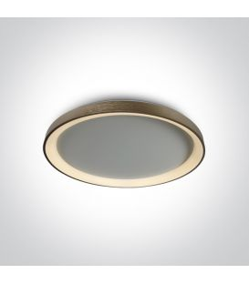 48W LED Kattovalaisin Brushed Brass Ø58 62148L/BBS/W