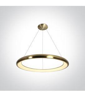 50W LED Riippuvalaisin Brushed Brass Ø61 62144NB/BBS/W