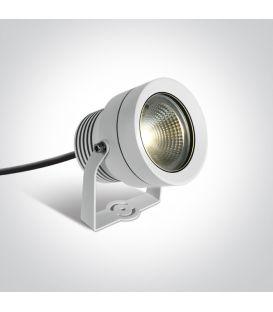 20W LED Maapiikkivalaisin White IP65 7047/W/W