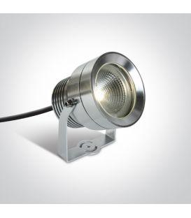 20W LED Maapiikkivalaisin Aluminium IP65 7047/AL/W