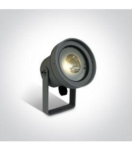 9W LED Maapiikkivalaisin IP65 Anthracite 67196C/AN/W